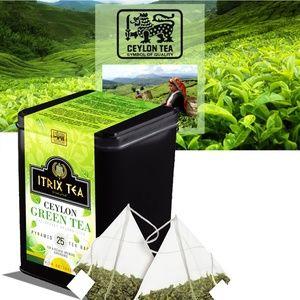 Itrix Ceylon Green Tea 25 bags Cadi Style